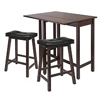 Winsome Lynnwood 3 pc Kitchen Table Set