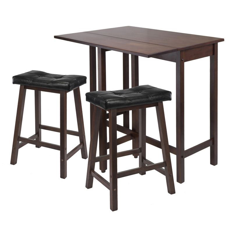Winsome Lynnwood 3-pc. Kitchen Table Set, Brown
