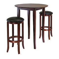 Winsome Fiona 3-pc. Round Table Set