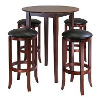 Winsome Fiona 5 pc Round Table Set
