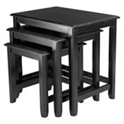 Winsome Parker 3-Piece Nesting Table Set