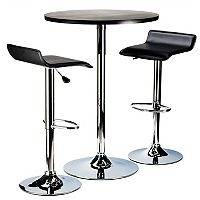 Winsome Spectrum 3 pc Pub Table Set
