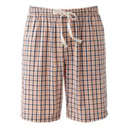 Croft and Barrow Plaid Lounge Shorts - Big and Tall