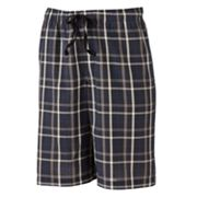 Apt. 9 Plaid Woven Lounge Shorts - Big and Tall