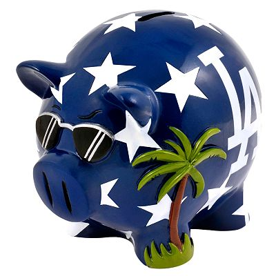 Los Angeles Dodgers Thematic Piggy Bank