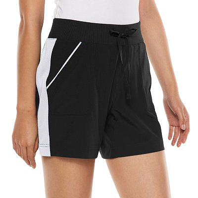 Tek Gear Striped Woven Performance Shorts