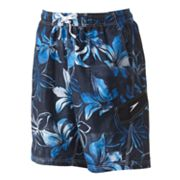 Speedo Weathered Floral Hawaiian Swim Trunks