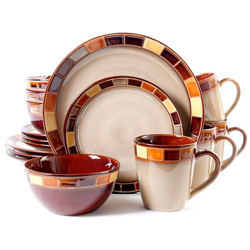 Gibson Everyday Casa Estebana 16-pc. Dinnerware Set