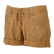Unionbay Cuffed Shortie Shorts - Juniors