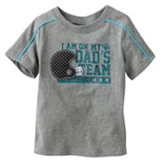 Jumping Beans I am on my Dad's Team Tee - Baby