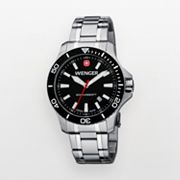 Wenger Sea Force Stainless Steel Dive Watch - 0641.105 - Men