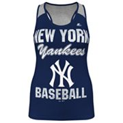 Majestic New York Yankees Ladies Champ Racerback Tank - Women