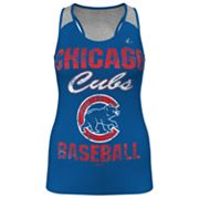 Majestic Chicago Cubs Ladies Champ Racerback Tank - Women