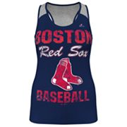 Majestic Boston Red Sox Ladies Champ Racerback Tank - Women