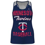 Majestic Minnesota Twins Ladies Champ Racerback Tank - Women