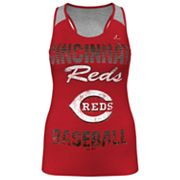 Majestic Cincinnati Reds Ladies Champ Racerback Tank - Women