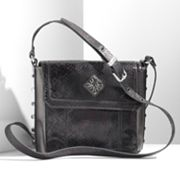 Simply Vera Vera Wang Johnny Snakeskin Cross-Body Bag