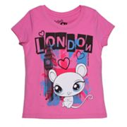 Littlest Pet Shop London Mouse Tee - Girls 4-6x