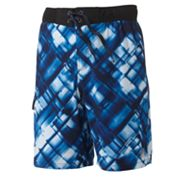 ZeroXposur Geometric Swim Trunks