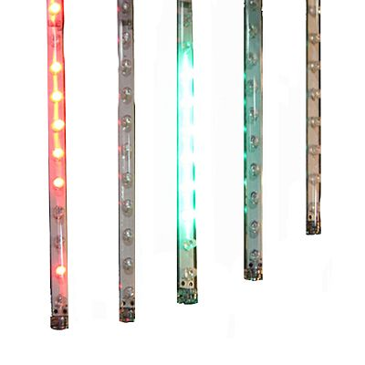 Kurt Adler Outdoor LED Add-On Multi-Colored Snowfall Light Set