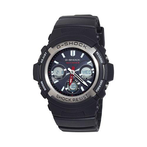 Casio Men's G-Shock Tough Solar Analog & Digital Atomic Watch - AWGM100-1ACR