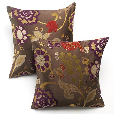 Home Classics Dutch Floral 2-pk. Decorative Pillows