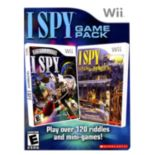 Nintendo Wii I Spy 2-in-1 Combo Pack