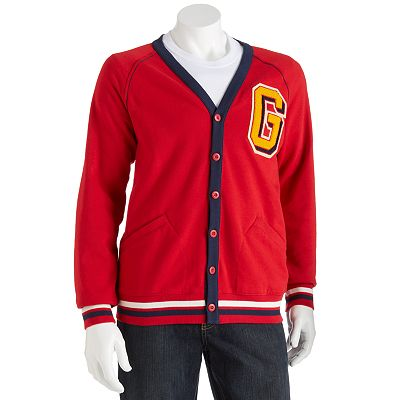 Generra Baseball Fleece Cardigan - Men