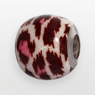 Individuality Beads Sterling Silver Leopard Bead