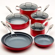 Fiesta Scarlet 11-pc. Cookware Set
