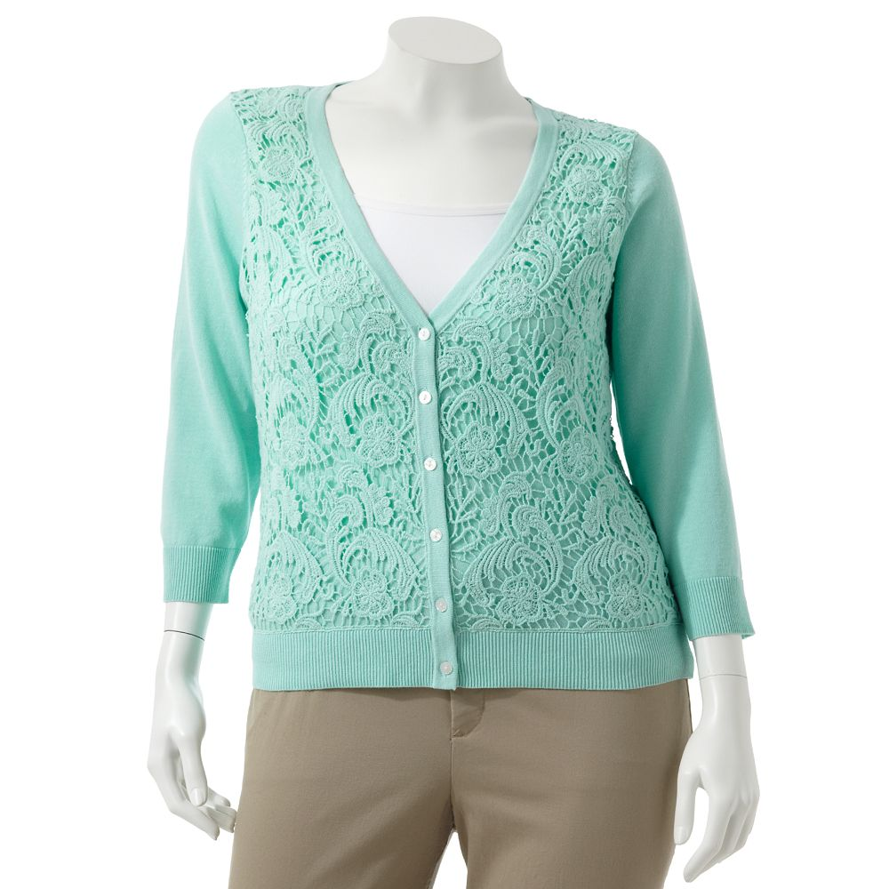 Plus-Size Cardigan