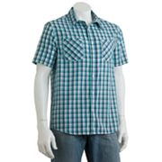 Tony Hawk Gingham Plaid Shirt - Men