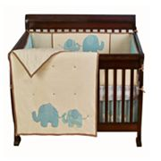 Sumersault Spotted Ellie 4-pc. Crib Set