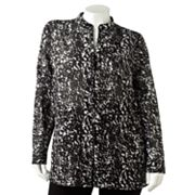 Dana Buchman Leaf Shirt - Women's Plus