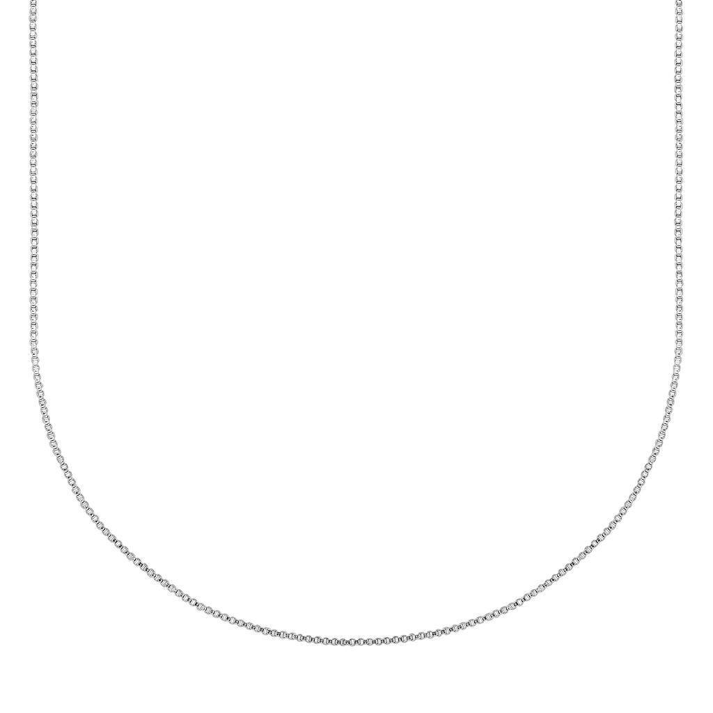 Splendid Silver Silver-Bonded Rope Chain Necklace - 20-in.