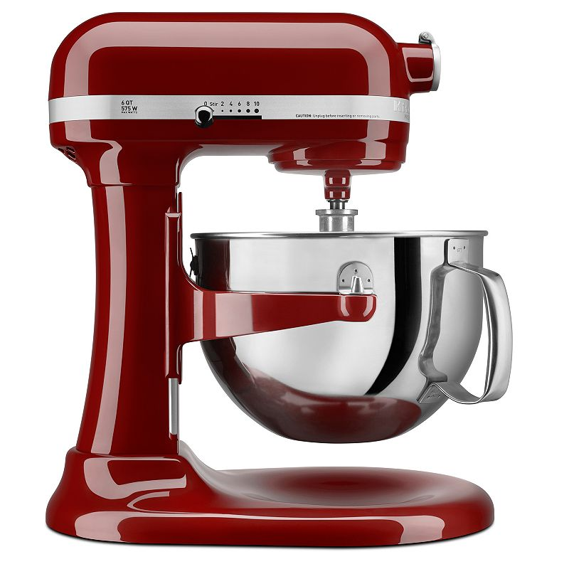 KitchenAid KP26M1X Pro 600 Stand Mixer (Red)