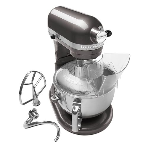 KitchenAid KP26M1X Pro 600™ Series 6-qt. Bowl-Lift Stand Mixer on