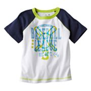 Jumping Beans Baseball League Raglan Tee - Baby