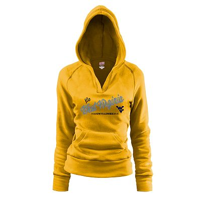 Soffe West Virginia Mountaineers Fleece Hoodie - Juniors'