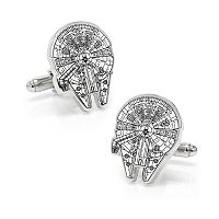 Star Wars Millenium Falcon Blueprint Cuff Links