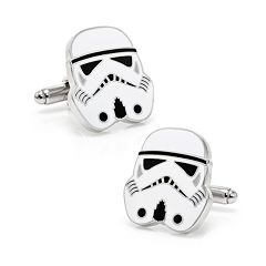Star Wars Storm Trooper Head Cuff Links