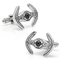 Star Wars TIE Starfighter Blueprint Cuff Links