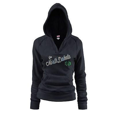Soffe North Dakota Fighting Sioux Fleece Hoodie - Juniors'
