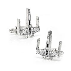 Star Wars X-Wing Starfighter Blueprint Cuff Links