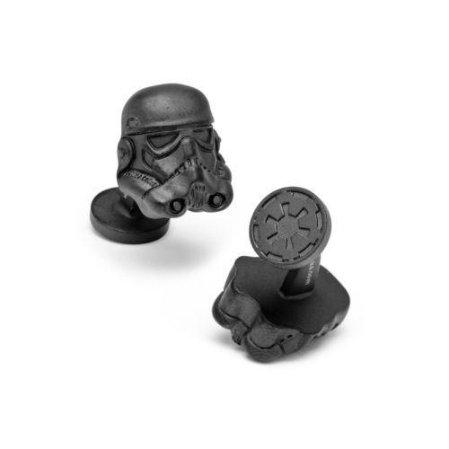 Star Wars 3-D Matte Storm Trooper Helmet Cuff Links