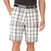 Chaps Golf Plaid Performance Shorts