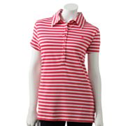 Gloria Vanderbilt Striped Polo