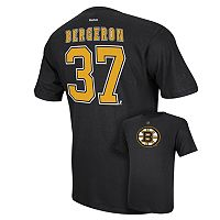 Men's Reebok Boston Bruins Patrice Bergeron Player Tee