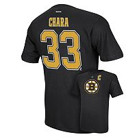 Men's Reebok Boston Bruins Zdeno Chara Player Tee