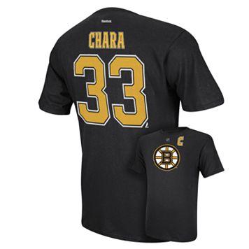 Men's Reebok Boston Bruins Zdeno Chara Player Tee